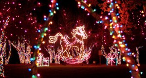 Top 10 most spectacular christmas light displays - Callaway gardens festival of lights ...