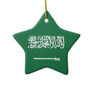 christmas may not exactly be widely celebrated in the arab world but they still have a short and catchy phrase