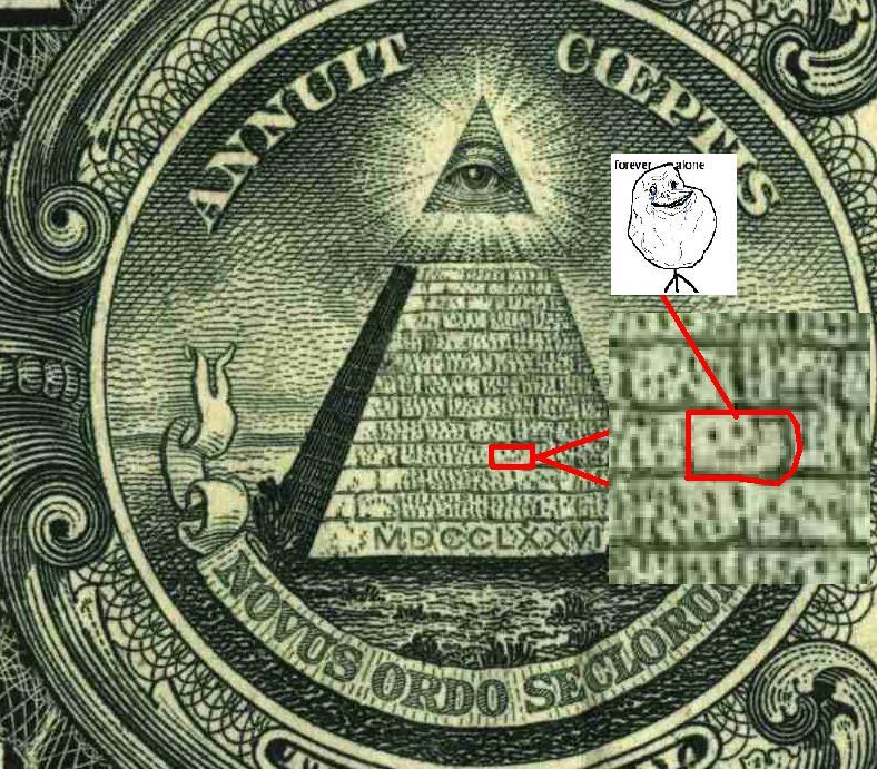 10 Illuminati Symbols On The One Dollar Bill